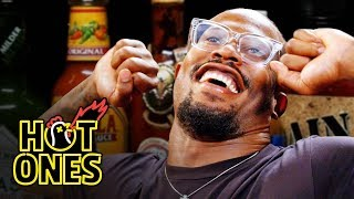 Von Miller Geeks Out Over Spicy Wings   Hot Ones