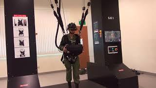 The Singapore Army's Parachute Flight Simulator
