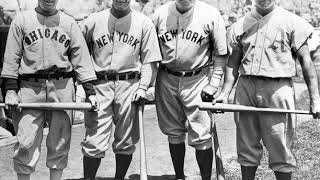 1934 All Star Game Radio Broadcast - Hear Hubbell Strikeout 5 Straight Hall Of Famers