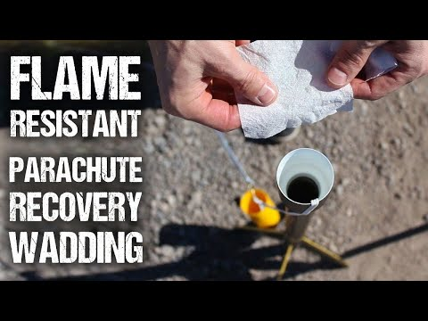 How To Make Fire-Resistant Rocket Wadding (For Pennies)