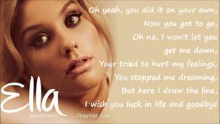 <b>Ella Henderson</b>  Missed Official Studio Version Lyrics On Screen Full Length New