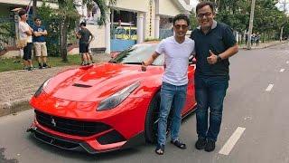 [OTOSAIGON.COM] Đánh giá xe Ferrari F12berlinetta với doanh nhân Quốc Cường