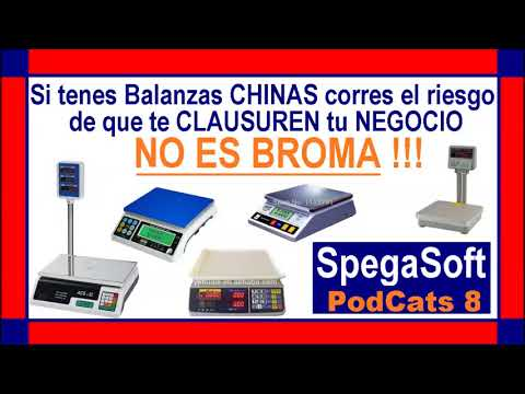 Compro una Balanza China o Argentina? - Tips SpegaSoft