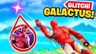 NEW *GLITCHING* to Galactus in Fortnite!