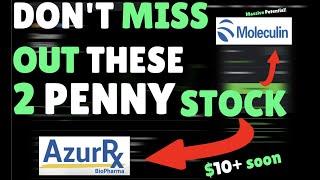 2 PENNY STOCK TO BUY NOW 2021! +2,000% Potential 🚀 | AZRX | MBRX | ROBINHOOD [STOCKS UNDER 1$]