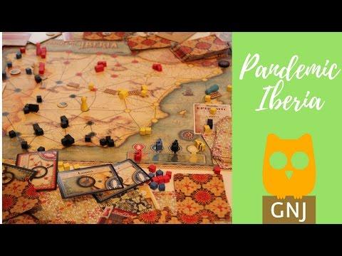 Pandemic Iberia -  Szerintem - Gond Nem Játék Társasjáték Blog