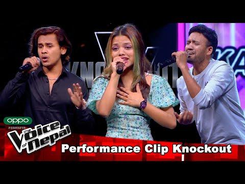 Sagar Vs Suraksha Vs Karna | Knockout |The Voice of Nepal Season 3 - 2021