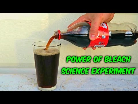 What Happens When You Mix Coca Cola With Bleach?