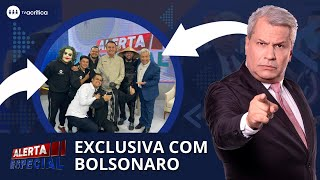 ENTREVISTA EXCLUSIVA COM O PRESIDENTE BOLSONARO