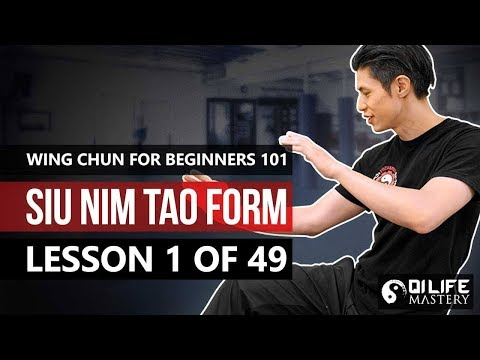 Wing Chun for Beginners 101   Siu Nim Tao Form (Lesson 1 of 49)