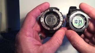 Casio Pro-Trek PRW-3500 vs PRW-3100
