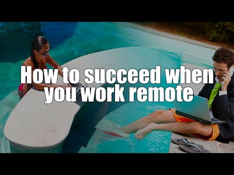Episode 056: How to succeed when you work remote Podcast