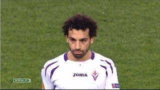 Mohamed Salah Vs Roma (A) UEL 14-15 | HD 720p (19/03/2015)