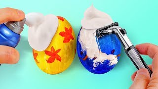 25 WAYS TO COLOR EASTER EGGS AND SWEET GIFTS IDEAS