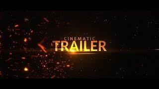 Cinematic Trailer Intro Template #213 Sony Vegas Pro