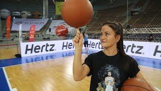 Karolina Kowalkiewicz Vlog #9 - Koszykówka z Gortatem i siostrami Radwańskimi