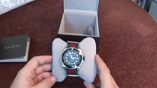 Gucci Dive Watch Review and Unboxing