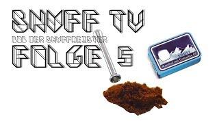 Snuff TV #5 Bob der Snuffmeister | Aus der Schaufel