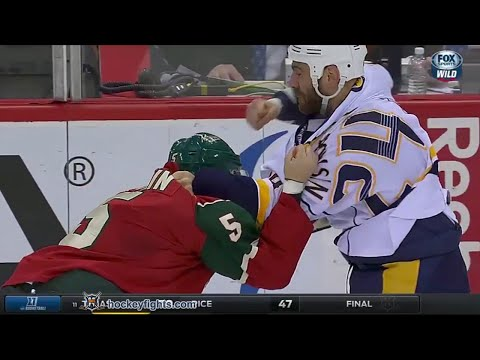 Christian Folin vs. Eric Nystrom