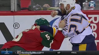 Eric Nystrom Vs Christian Folin Nov 21, 2015
