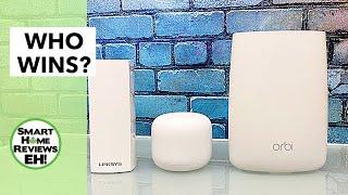 The BEST MESH WIFI for your Home Office/Smart Homes? Netgear Vs. Linksys Vs. Google!