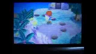 Isabelle  - (Animal Crossing) - Animal Crossing NL - How to push Isabelle off a cliff