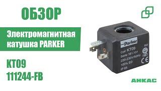 Электромагнитная катушка PARKER KT09 арт. 111244-FB