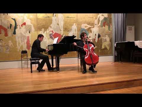 Concert « Musique de chambre et improvisation »<br /> Rachmaninov, Vocalise pour violoncelle et piano