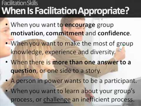 How To Facilitate A Training Course: Tips on Facilitation Skills ...