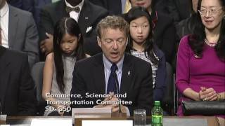 Rand Paul Introduces Transportation Sec. Nominee Elaine Chao