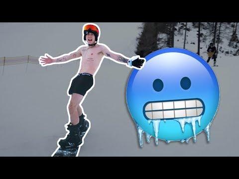NAHÁ JAZDA NA SNOWBOARDE