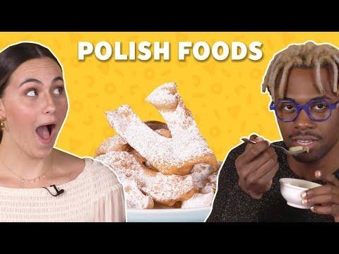 Polish Foods try