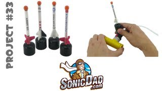 Micro Stomp Rocket - SonicDad Project #33