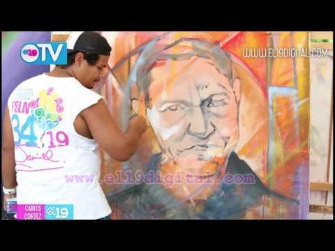TNRD abre sus puertas a la pintura joven en honor a Sandino