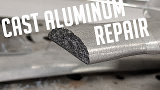 🔥Cast Aluminum Weld Repair