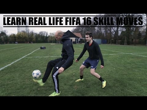 LEARN REAL LIFE FIFA 16 SKILL MOVES   with AJ3