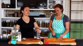 Simple Lacto-fermented Carrots