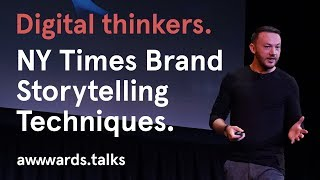 The New York Times Storytelling Techniques for Brands | Graham McDonnell