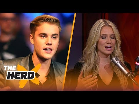 Justin Bieber unfollowed Floyd Mayweather on Instagram – Kristine and Colin react | THE HERD