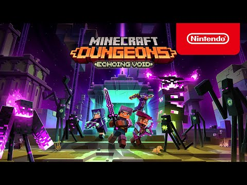 Minecraft : Dungeons : Minecraft Dungeons Echoing Void DLC - Launch Trailer