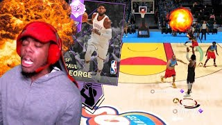 OH MY HE'S ON FIRE! AMETHYST PLAYOFF P! VS @DENVERSTRUCK NBA 2K18 MYTEAM GAMEPLAY!