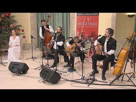 Adventi koncertek a Városházán 2018 - Sudár Annamária és a Misztrál együttes - video preview image