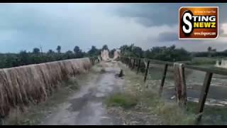 Bad Condition Of Bridge Of Chougachha-Bahadurpur Road
