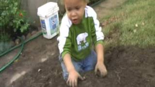 Children Play With Earth