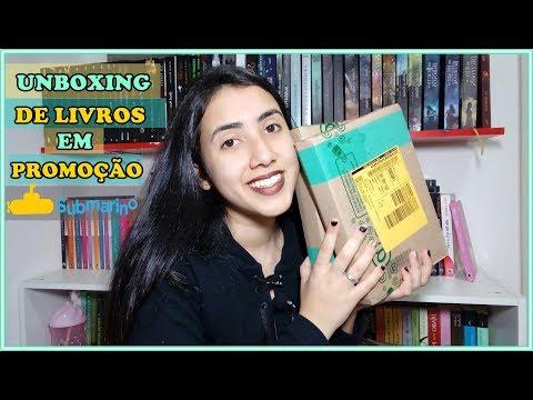 UNBOXING |  Promoção Submarino | Leticia Ferfer | Livro Livro Meu