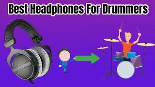 Best Headphones For Drummers in 2020/2021 (Buyer's Guide)