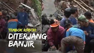 Dilanda Hujan Deras, Ratusan Rumah Warga di Depok Terendam Banjir hingga Tembok Rumah Roboh