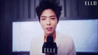 【RAW】130423 Park Bogum ELLE TV | 엘르TV 박보검 컷