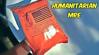Testing Humanitarian MRE (Meal Ready to Eat)