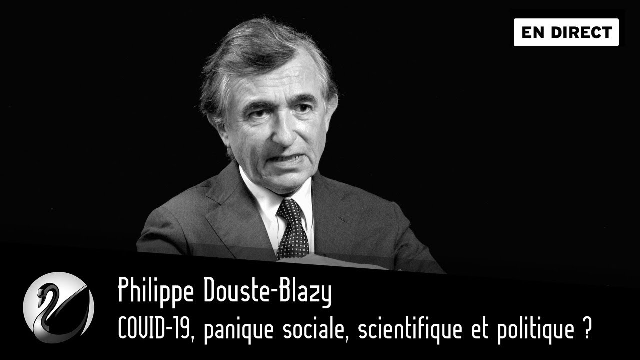 Philippe Douste-Blazy : COVID-19, panique sociale, scientifique et politique ?